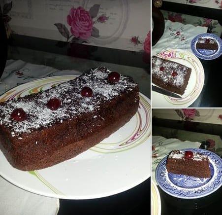 cake au café chez Oum younes.bmp