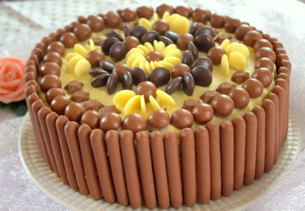 Gateau D Anniversaire Facile Aux Bonbons Chocolat