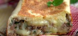 Crepes turques a la viande hachée, Gozleme