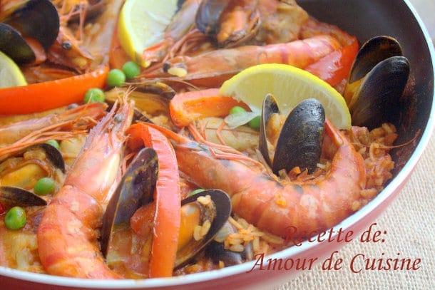 Paella au poulet amour de cuisine for Amour de cuisine 2015