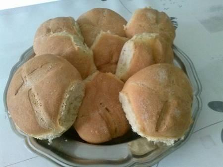 pain de semoule chez Isabelle Lgd
