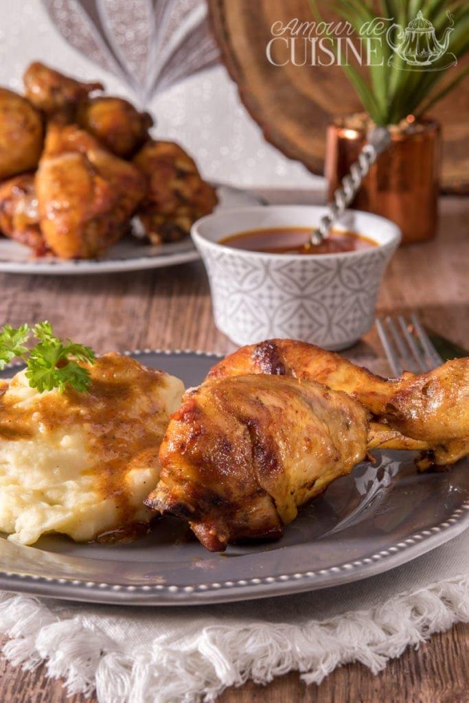 pilons de poulet au four 1