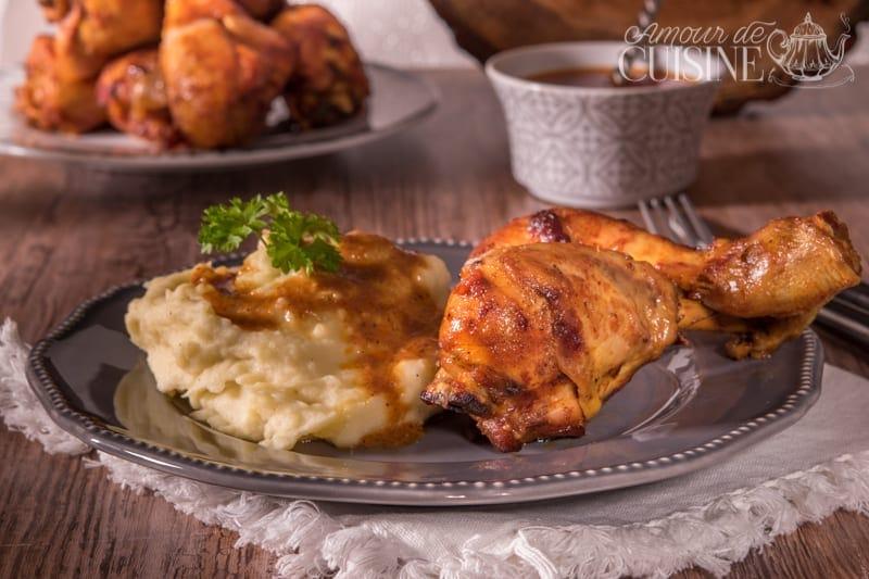 pilons de poulet au four