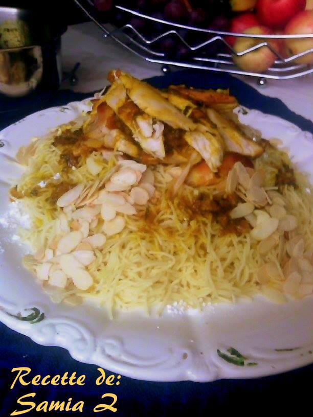 seffa au poulet 1