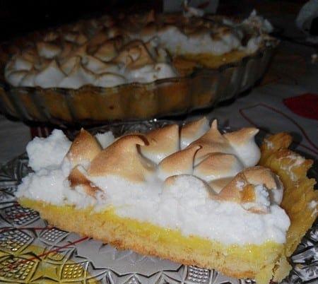 tarte au citron chez aryouma Mess