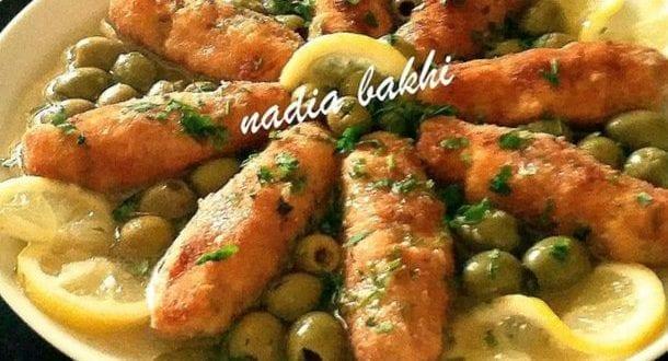 Croquettes de poulet et riz en sauce blanche