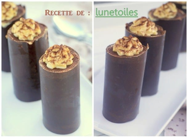 Tiramisu version roulé