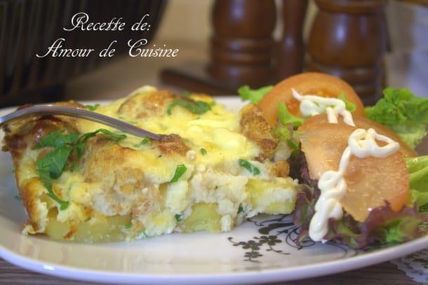 gratin de chou fleur et pommes de terre - amour de cuisine