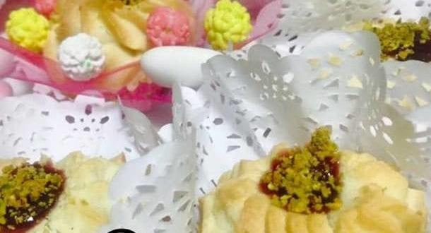halwat lambout en rosace a la maizena