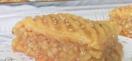 el menkoucha gateau algerien au miel