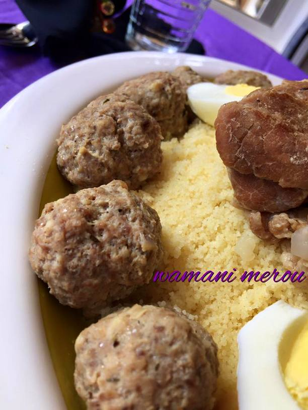 mhawer, couscous constantinois