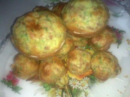 minis cakes au thon