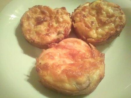 muffin salé au poulet chez Renales