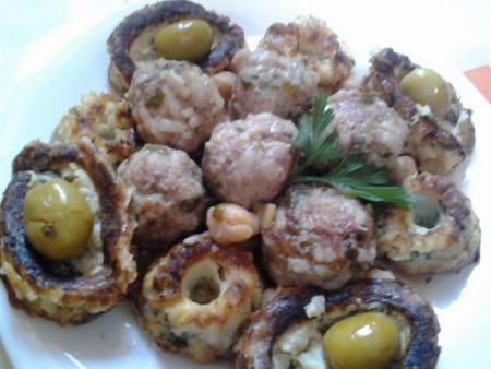 tajine choux fleur et boulettes de viande hachée