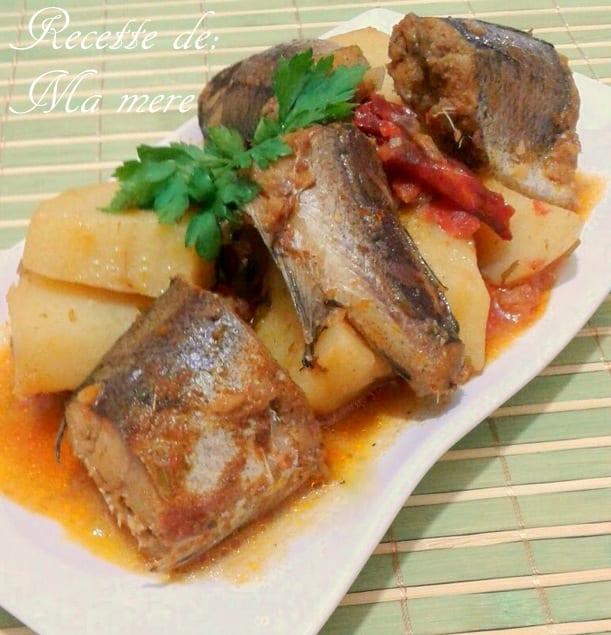 Tajine pomme de terre au merlan amour de cuisine for Amour de cuisine 2015