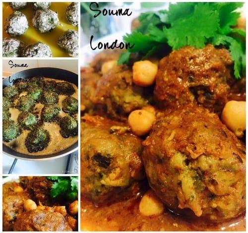 Tajine aux boulettes de viande hach e pinards amour de for Amour de cuisine ramadan 2015