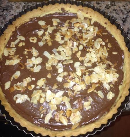 tarte au chocolat chez massimalek