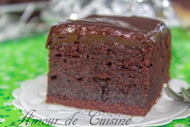 brownie au mascarpone et ganache au chocolat 2