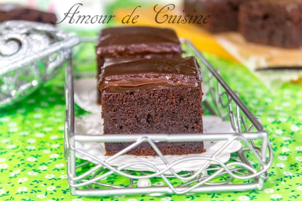 brownie au mascarpone et ganache au chocolat1