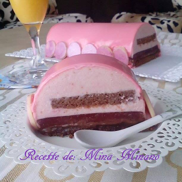 Cake Framboise Chocolat Noir