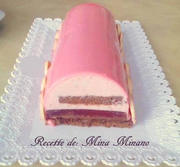 buche framboise chocolat 3