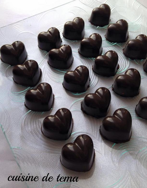 chocolat fourré a la pate de praliné