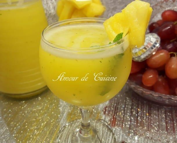 Jus br le graisses ananas et citron amour de cuisine - Boisson coupe faim naturel ...