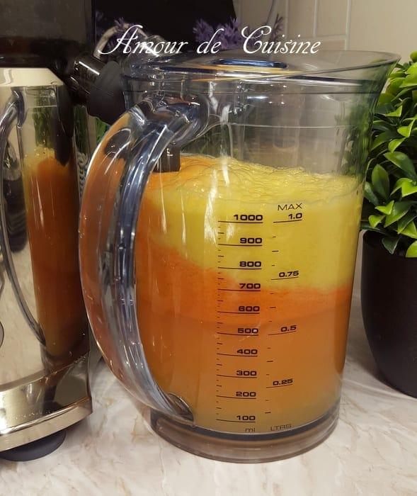 jus d'orange centrifugeuse