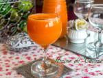 jus d'orange et carottes