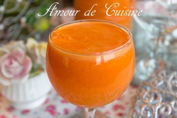 Jus D Oranges Et Carottes Fait Maison Amour De Cuisine
