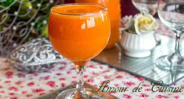 Jus d'oranges et carottes fait maison