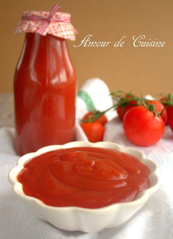 ketchup express fait maison amour de cuisine. Black Bedroom Furniture Sets. Home Design Ideas