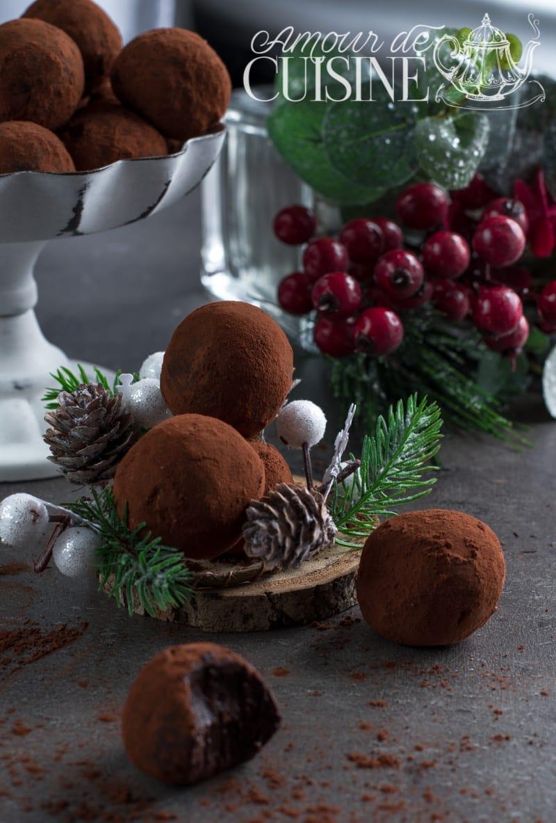 truffes au chocolat Cyril Lignac