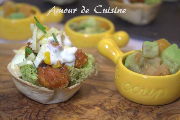 Paniers de burritos au poulet amour de cuisine for Amour de cuisine ramadan 2015