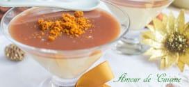 panna cotta a la crème de marron