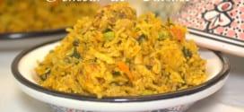 Riz djerbien au poulet ou rouz jerbi