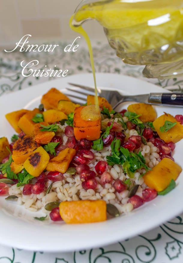 salade d'orge et courge musquée 1