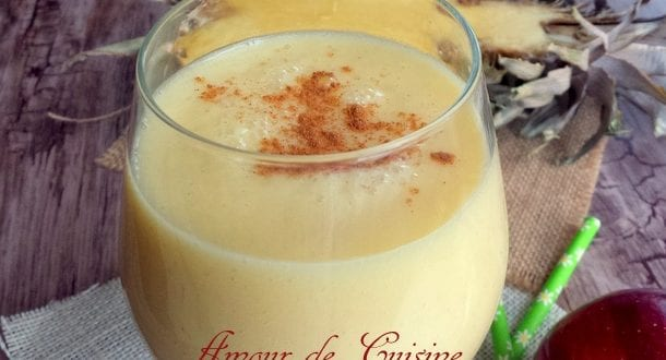 smoothie amaigrissant a l'ananas