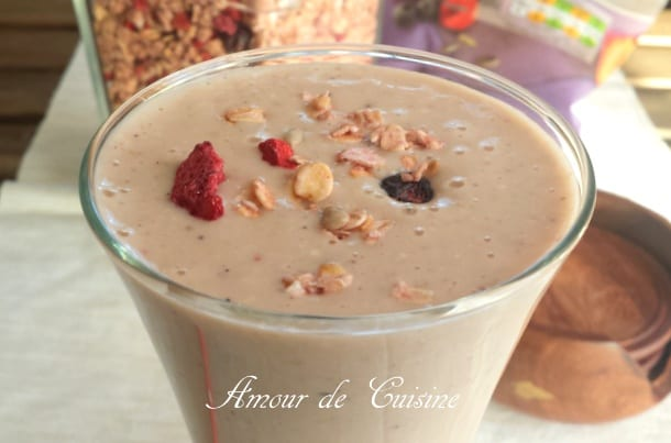 smoothie au granola 1