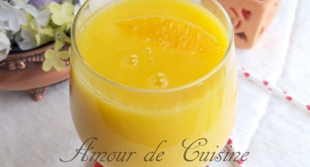 smoothie brule graisse ananas et mangue