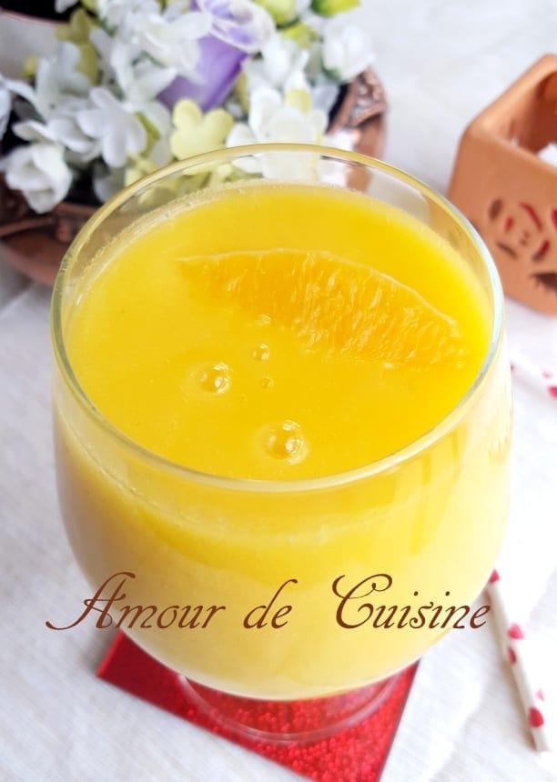 smoothie brule graisse ananas et mangue 1