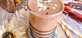 smoothie chaud au café-mocha