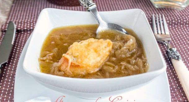 la soupe a l'oignon
