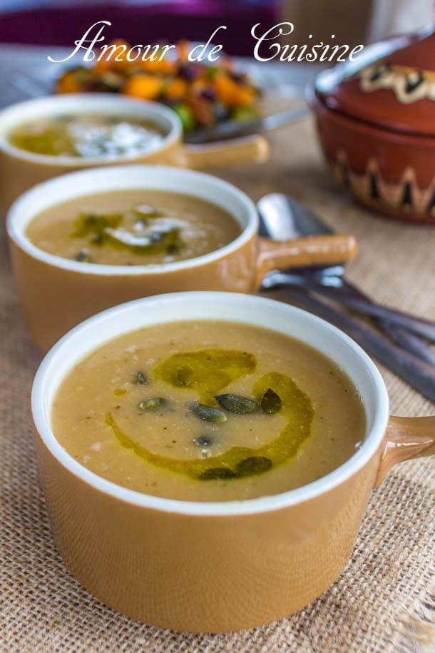 soupe de navet grillé 2