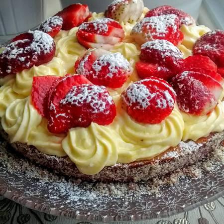gateau au fraises nadia