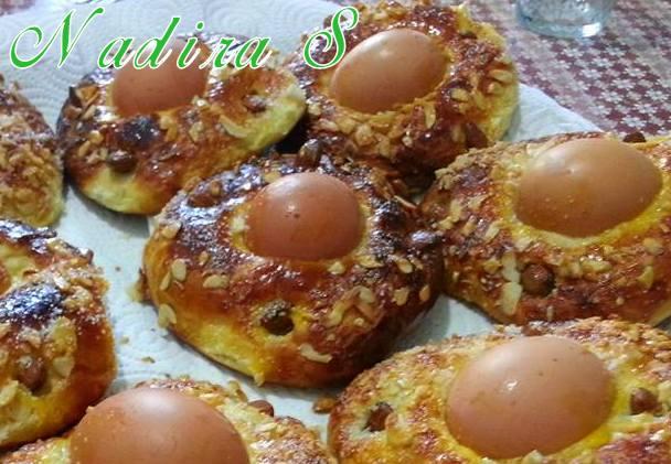 Khbizate yennayer petits pains aux oeufs durs amour de for 1 amour de cuisine