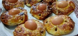 khbizate yennayer, petits pains aux oeufs durs