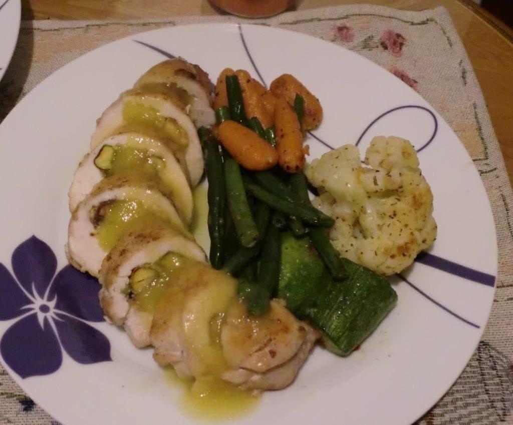 poulet au pistache