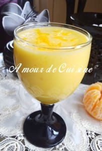 smoothie ananas clémentine 1