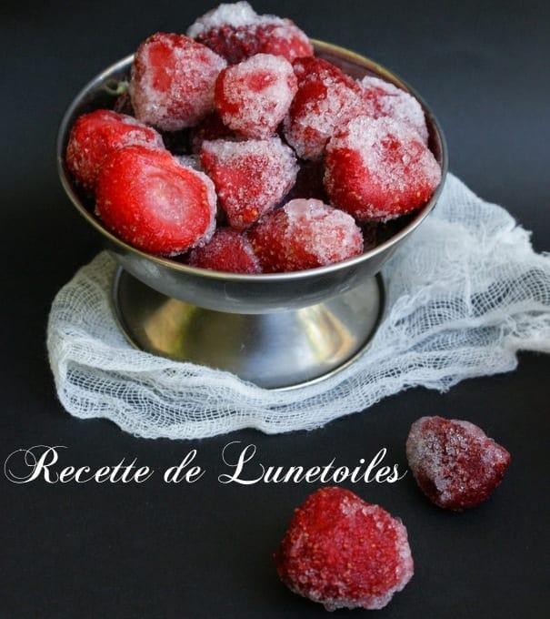 smoothie fraises litchis